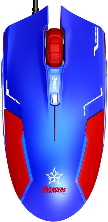 E-Blue Captain America - Shield, modrá