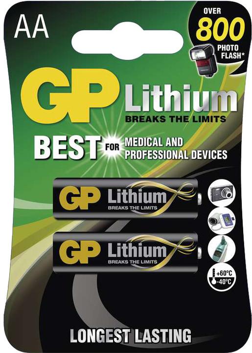 GP, lithium, AA, 2ks