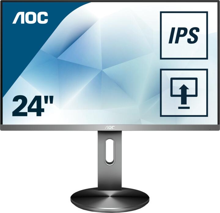 """AOC I2490PXQU - LED monitor 23,8"""""""