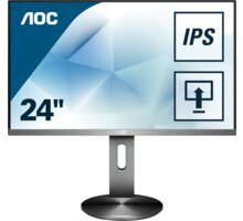 """AOC I2490PXQU - LED monitor 23,8"""" - I2490PXQU/BT"""