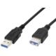 PremiumCord prodlužovací, USB 3.0, A-A, MF, 9pin, 3m