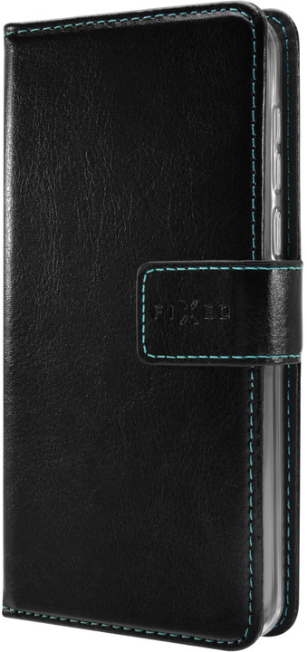 FIXED pouzdro typu kniha Opus pro Apple iPhone XS, černá
