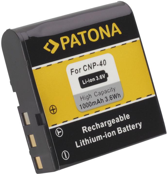 Patona baterie pro Casio, NP-40 1000mAh