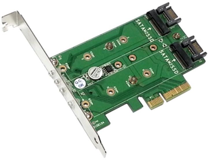 Addonics M.2 PCIe SSD Adapter PRO