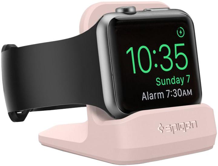 Spigen S350 Night Stand, pink sand - Apple Watch