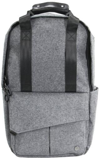 "PKG Rosseau Mini batoh na notebook 13"", šedá"