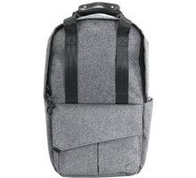 """PKG Rosseau Mini batoh na notebook 13"""", šedá PKG-ROSSEAU-MN-WOOL"""