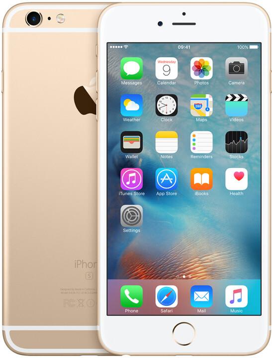 Apple iPhone 6s Plus 64GB, zlatá