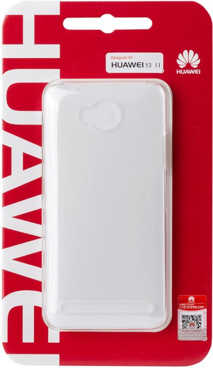 Huawei Original Protective Pouzdro 0.8mm White Y6 II (EU Blister)