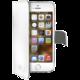 CELLY Wally pouzdro pro Apple iPhone 5/5S/SE, bílá
