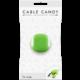 Cable Candy kabelový organizér Turtle, zelená