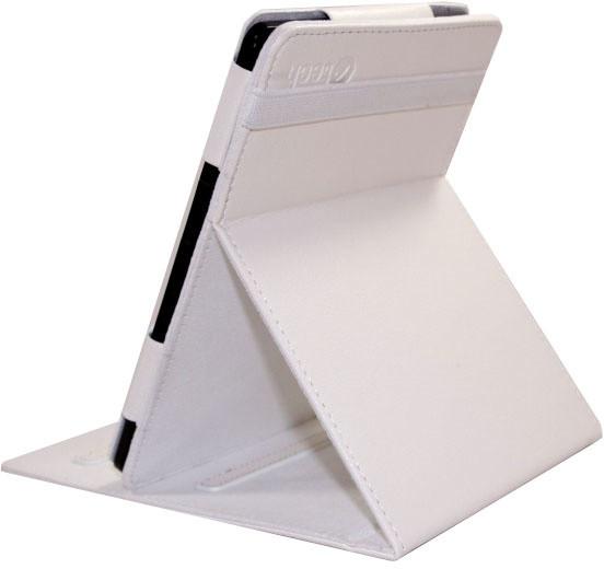 C-TECH PROTECT pouzdro pro Amazon Kindle 4/5 se stojánkem, AKC-02, bílá