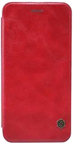 Nillkin Pouzdro Qin Book pro iPhone X, Red