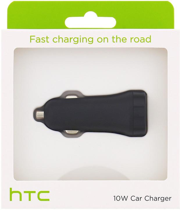 HTC CC C600 Fast USB Autodobíječ 10W/2A (EU Blister)