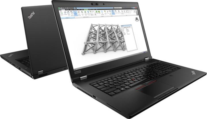 Lenovo ThinkPad P72, černá
