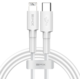 Baseus BMX Mini MFi certifikovaný kabel USB-C na Lightning PD (18W 1.2M), bílá