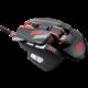 Cougar 700M eSports, černá/červená