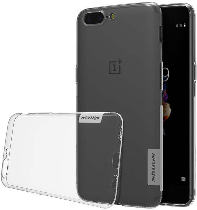 Nillkin Nature TPU pro OnePlus 5, Transparent