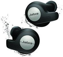 Jabra Elite Active 65t, černá O2 TV Sport Pack na 3 měsíce (max. 1x na objednávku)