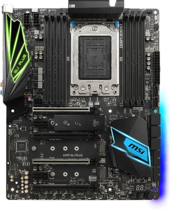 MSI X399 SLI PLUS - AMD X399