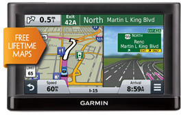 GARMIN nüvi 55 Central Europe Lifetime