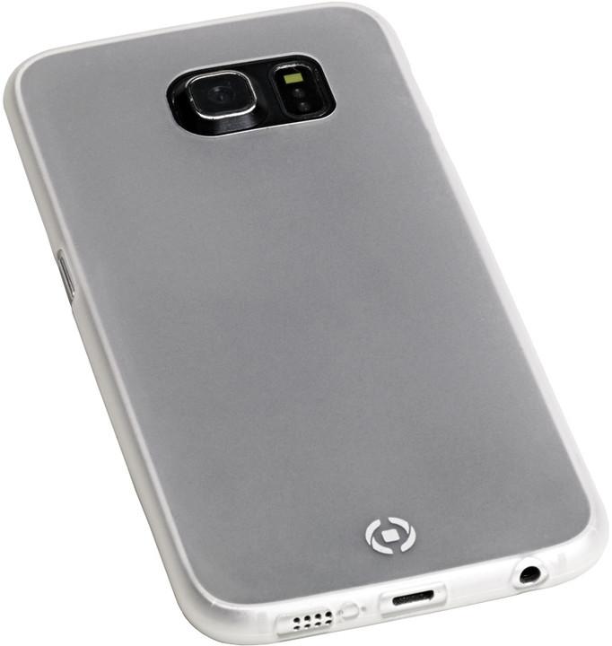 CELLY pouzdro Frost pro Samsung Galaxy S6, TPU, 0,29mm - bílá