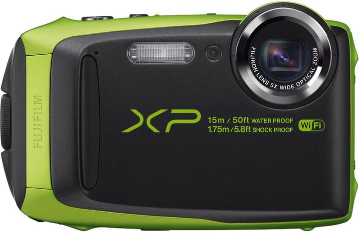 Fujifilm FinePix XP90, zelená