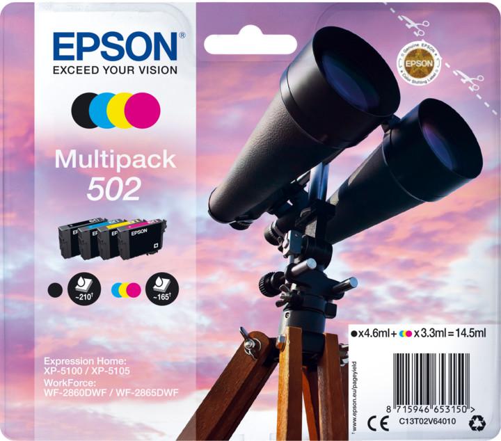 Epson C13T02V64010, multipack