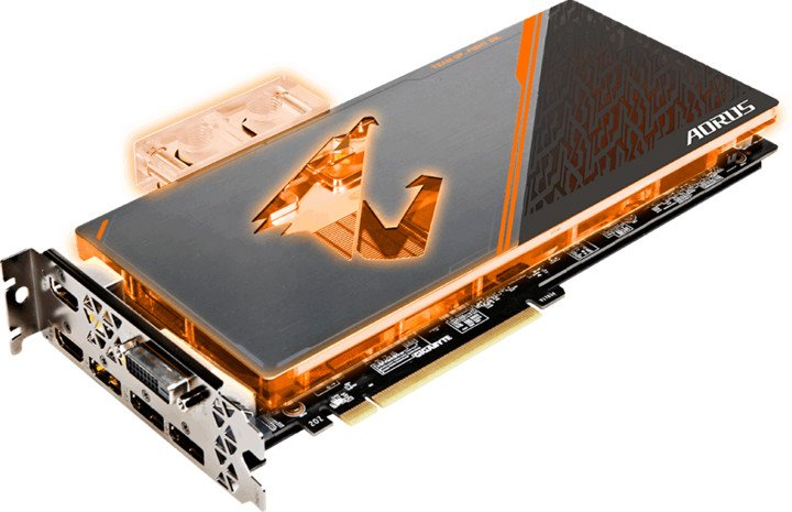 GIGABYTE GeForce AORUS GTX 1080 Ti Waterforce WB Xtreme Edition 11G, 11GB GDDR5