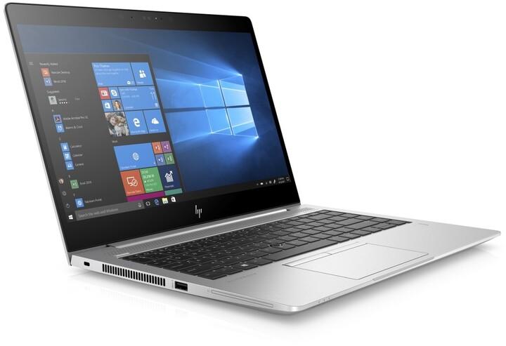 HP EliteBook 745 G5, stříbrná