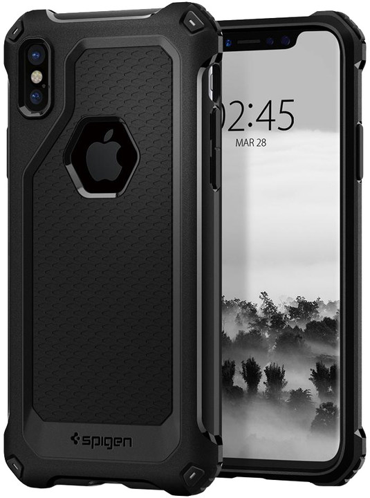 Spigen Rugged Armor Extra iPhone X, black