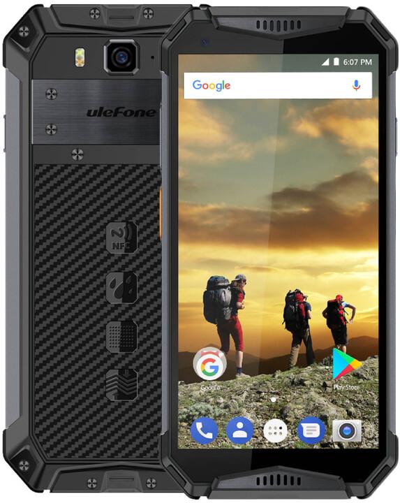 UleFone Armor 3W, 6GB/64GB, Black