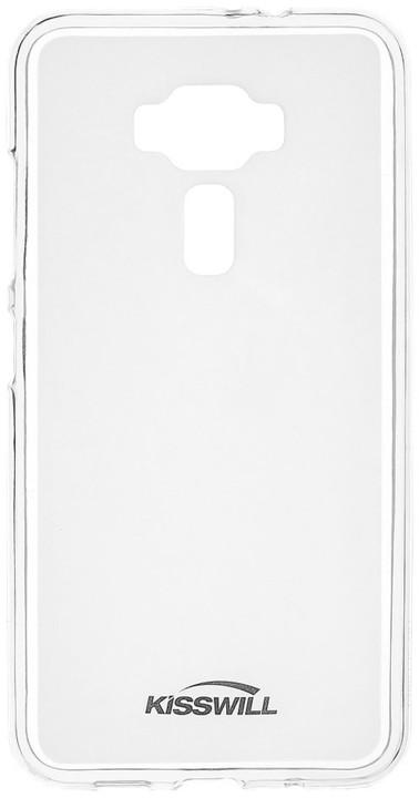 Kisswill TPU pouzdro pro Asus ZenFone 3 Max ZC520TL, transparentní