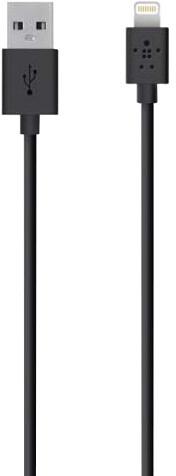Belkin Synchronizační Lightning kabel 3m, černá