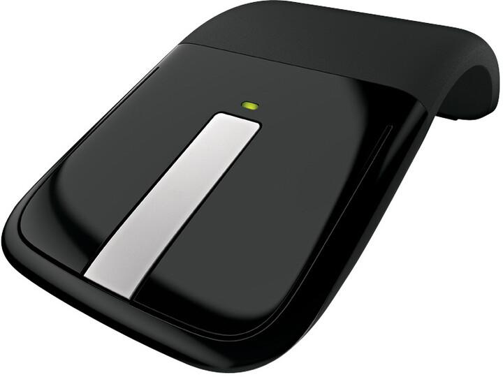 Microsoft Arc Touch Mouse, černá
