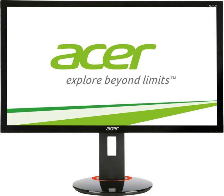 """Acer XB270HAbprz Gaming - LED monitor 27"""""""