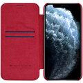 """Nillkin pouzdro Qin Book pro iPhone 12/ 12 Pro (6.1""""), červená"""