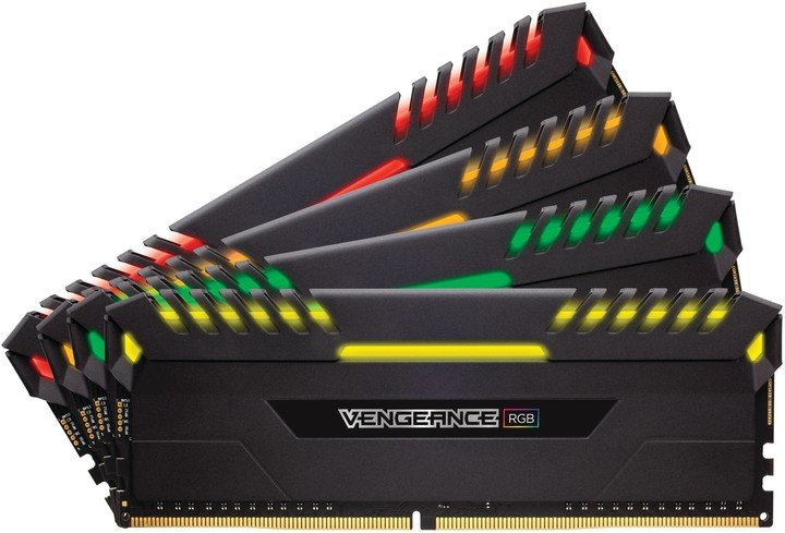 Corsair Vengeance RGB LED 32GB (4x8GB) DDR4 2666