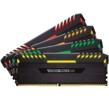 Corsair Vengeance RGB LED 32GB (4x8GB) DDR4 3466, černá