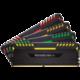 Corsair Vengeance RGB LED 64GB (4x16GB) DDR4 3466, černá  + HD USB Kingston DataTraveler microDuo, USB 3.0 - 16GB v hodnotě 259 Kč
