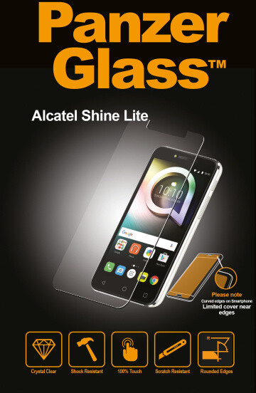 PanzerGlass Standard pro Alcatel Shine Lite, čiré