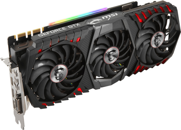 MSI GeForce GTX 1080 Ti GAMING X TRIO, 11GB GDDR5X