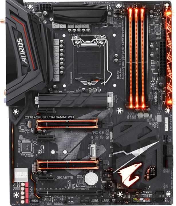 GIGABYTE Z370 Aorus Ultra Gaming Wifi - Intel Z370