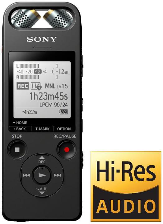 Sony ICD-SX2000, 16GB, černá