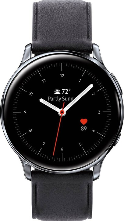 Samsung Galaxy Watch Active2 40mm LTE (Stainless Steel), Silver