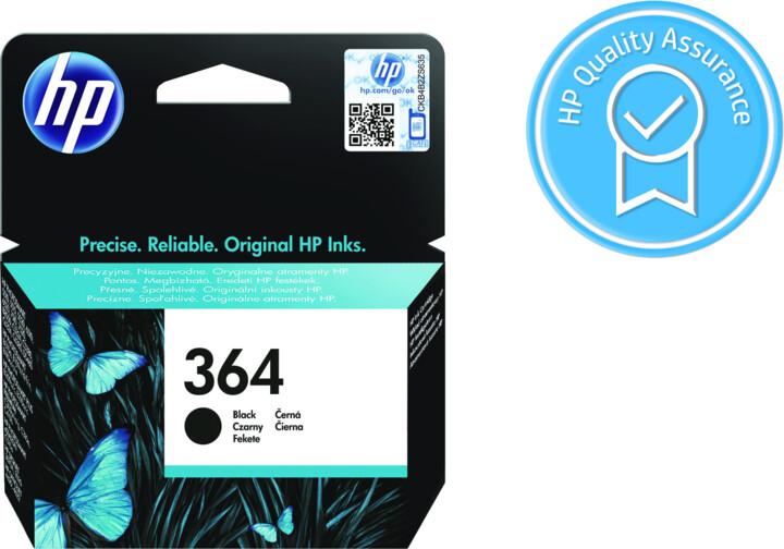 HP CB316EE, č. 364, černá