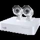 iGET HOMEGUARD HGDVK47702, 4-kanálový FHD DVR + 2x HGPLM828 kamera FHD1080p, IP66