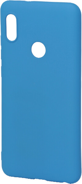 EPICO Pružný plastový kryt pro Xiaomi Redmi Note 5 SILICONE FROST - modrý