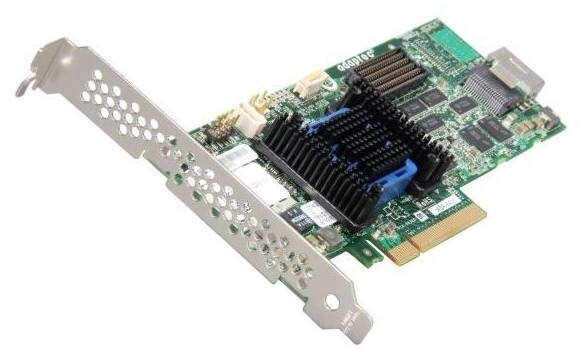 ADAPTEC RAID 6405 Kit SAS 2/ SATA 2, PCI Express x8, 4 porty