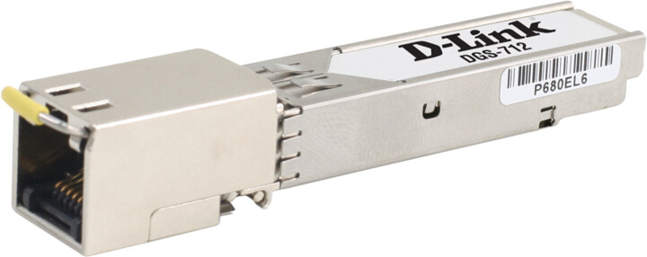 D-Link DGS-712 SFP 10/100/1000BASE-T Copper Transceiver